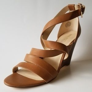 Nine West Strappy Wedge Sandals-size 10
